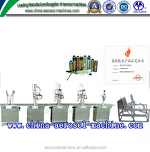 Semi automatic PU Foam aerosol filling Machine for ployurethane foam