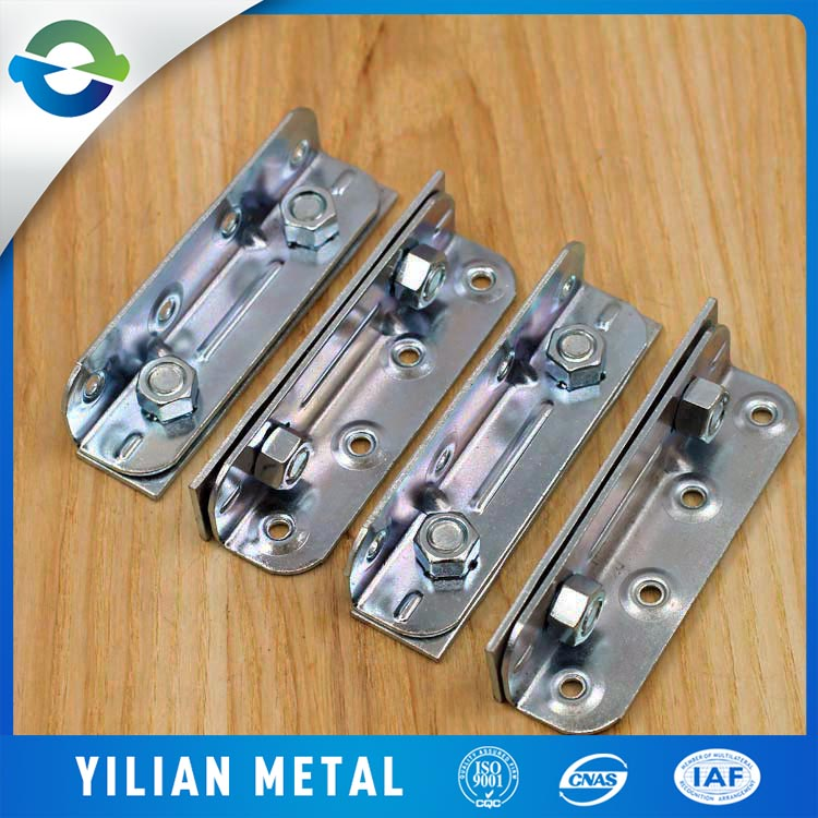 Chinese manufacturers supply Galvanized Bed Rail Fasteners Bed hinge Bed hardware