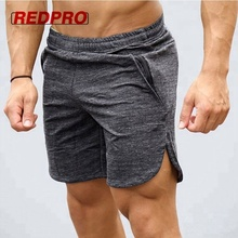 Wholesale 100% cotton comfortable gym mens workout shorts