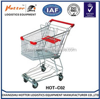 Good market enjoying popular supermarket trolley dimensions /shopping trolley/wholesale shopping carts