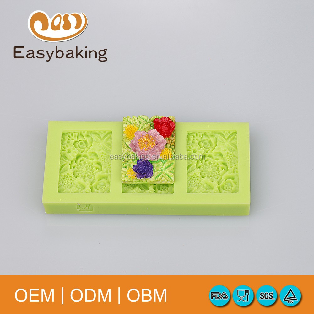 Amazon.com Silicone Soap Mold Cake Decortion