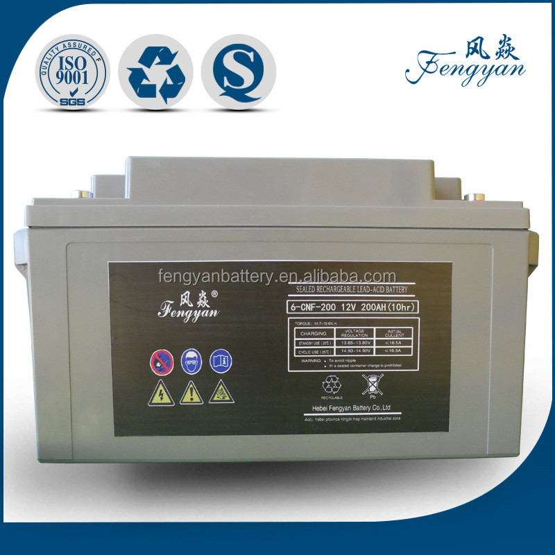 Sealed Lead Acid Storage Batteries 12v 200ah