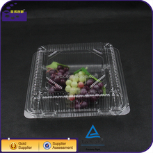 Clear BOPS Plastic Blister Food Storage Pizza Box Container