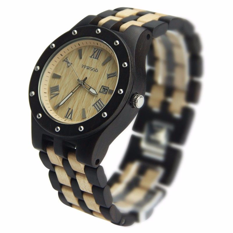 2017 hot trending product high quality handmade wrist wood watch