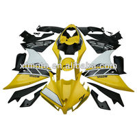 Yellow Bodywork ABS Plastic Fairing Set Wholesale For Yamaha YZFR1 YZF-R1 YZF R1 2013