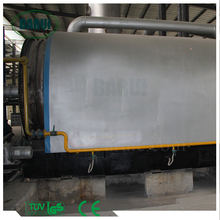 conversion of plastic waste to fuel oil waste plastic pyrolysis machine with ISO/CE