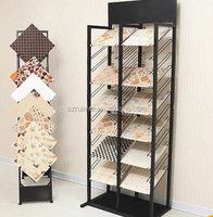 Waterfall Tile Sample Display Shelf/tile showroom display/tile display stand