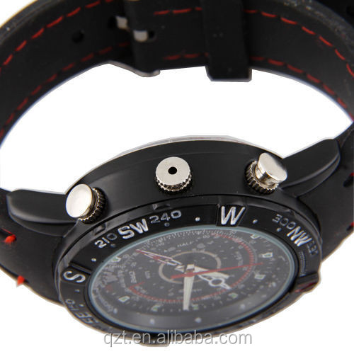 HD DVR hidden spy Watch camera Waterproof