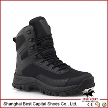 waterproof steel toe safety boot/insulated work toe bot