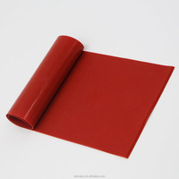 High quality Red Waterproof Fiberglass Cloth Reinforced Silicone