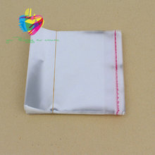 China low price clear / printed plastic patch packaging opp / cpp bag with permanent sealing