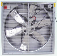 Wall Mounted greenhouse fan/greenhouse Exhaust Fan for Poultry and Greenhouse with airflow 44000m3/h