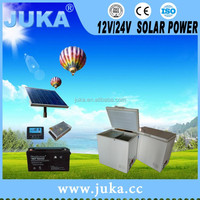 2016 China Juka 208Lsolar freezer for africa solar micro freezer with low price