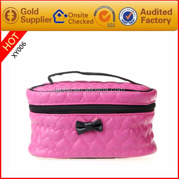 Pure Soft PU leather wash bag for women girls