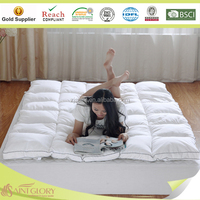 Saint Glory famous producer selling High Quality Hotel Feather Mattress Pad