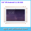 Hot sale!! touch tablet with sim card slot/quad core 9.6 inch 3g android tablet pc/ mini laptop computer best buy