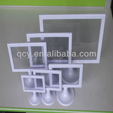 QCY-X-162 clear acrylic recordable message photo frame