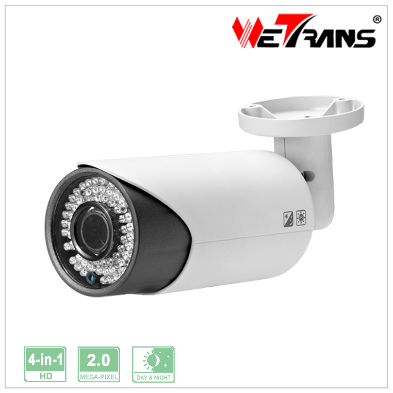 Hybrid CCTV 2MP 1080P Infrared AHD CVI CVBS TVI 4 In 1 AHD Camera Surveillance System Bullet Camera Support UTC OSD TR-X20DR750