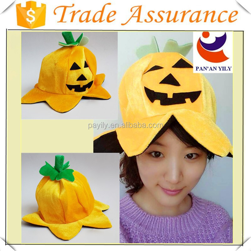 factory sale pumpkin hat halloween hats to make