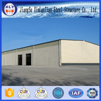 China Low Cost Prefabricated Steel Barn