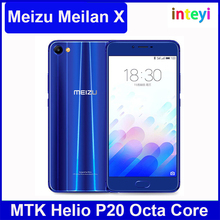 "Latest Meizu Meilan X 5.5"" 4G LTE Mobile Phone 3GB/4GB + 32GB/64GB Helio P20 Octa Core 12.0 MP 3200mAh meizu m3 X"