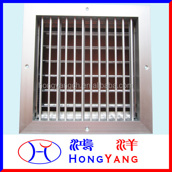 Aluminum Air Single Deflection Inlet Grille