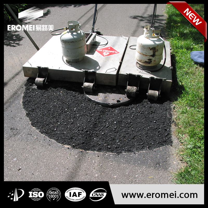 High frequency infrared asphalt equipment With ISO9001 Certificate