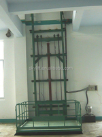 convenience hydraulic home lift guide rail lift