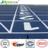 13mm 8 lanes playground flooring running track athletics synthetic track