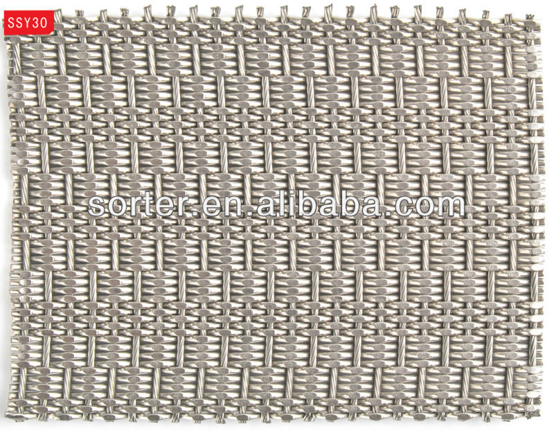 flexible metal mesh fabrics