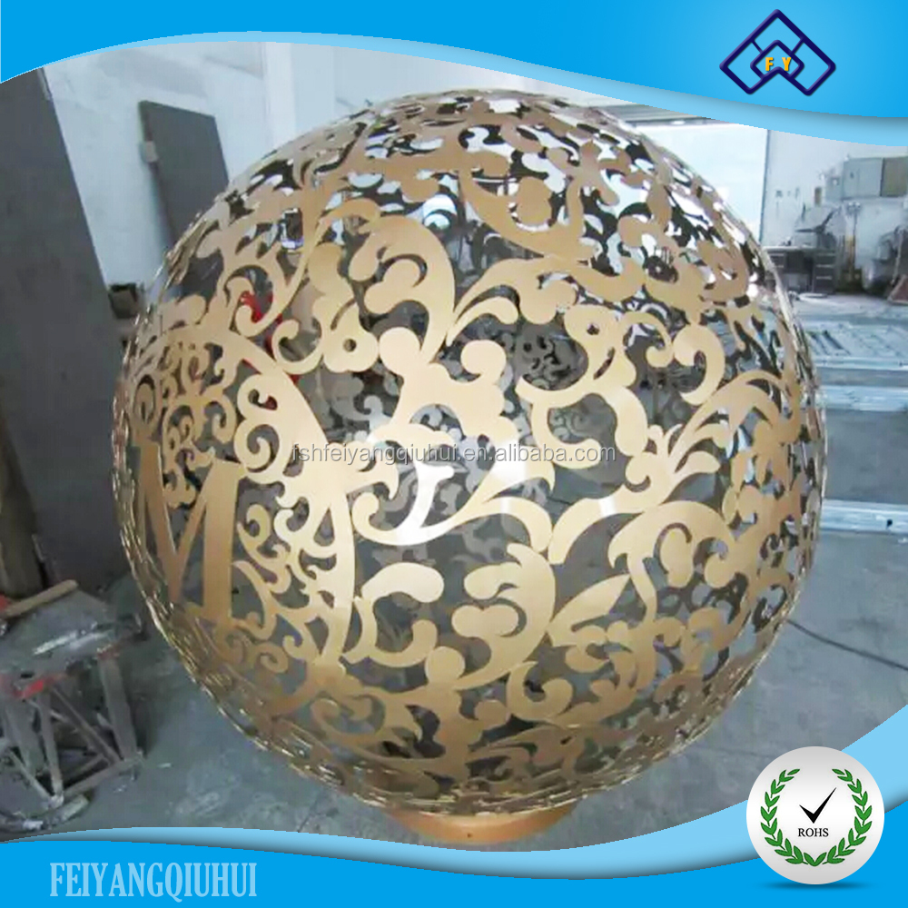 304 #, 316 # stainless steel hollow decorative ball