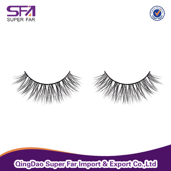 Chinese Imoprts Wholesale Eyelash Extension Mink Fake Eyelashes