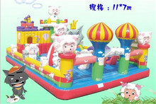 CHINA YIWU bouncy castles inflatables
