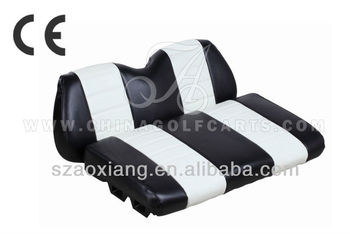 2012 New Durable Leather seat cushion and backrest for golf cart