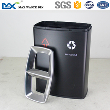 MAX-SN204 Indoor twin container top open dustbin