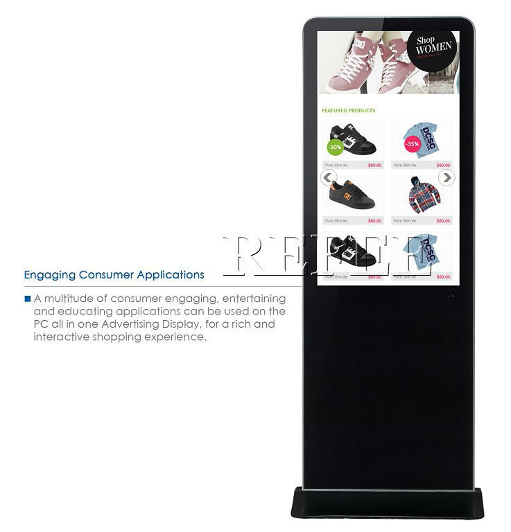 led advertising display screen/internet kiosk cabinets