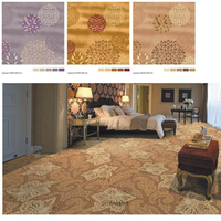 4 M wide broadloom printed carpet imported from china