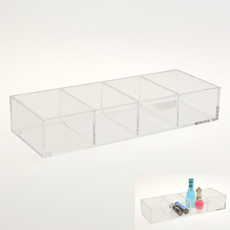 Top Sales Clear 4 divisoria makeup organizer acrylic cosmetic