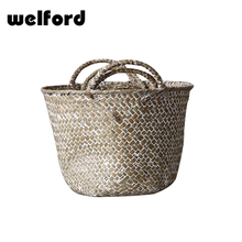 Customized handmade nice cheap bamboo laundry basket