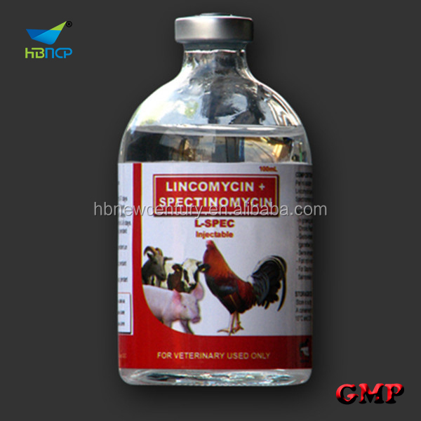 Veterinary medicine lincomycin hcl +spectinomycin hcl injection