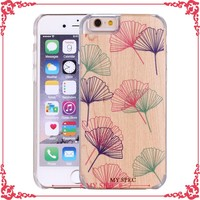 Latest design wholesale custom mobile phone cover wood cases for samsung