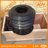 API top &bottom downhole cementing rubber plug