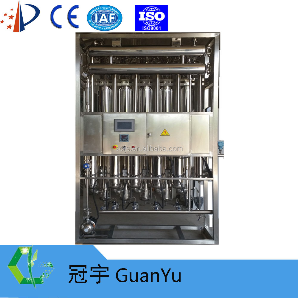 PLC Full automatic china medical equipment LD500-5 Multi-effect stainless steel water distiller