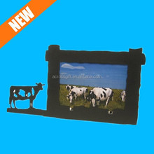 4X6 Horizontal Picture Frame Resin Cow Photo Frame