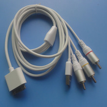 1.2meter av input output video cable for iphone 4s support ios 8