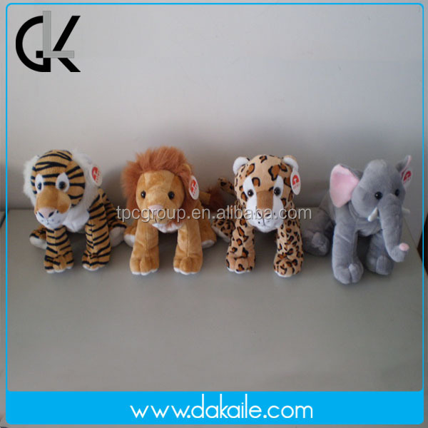 China plush toy factory custom stuffed Including various types of animals plush toy