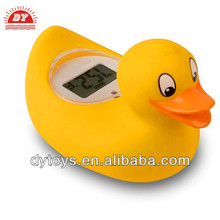 Lovely baby bath duck bath thermometer