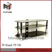 2014 new design hot sale glass tv stand living room furniture