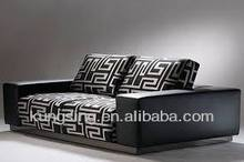 artistic funiture home leather hot sofa