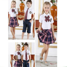 Custom England style primary school uniform new design kindergarten uniform